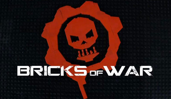bricks of war video stop motion gears of war lego version
