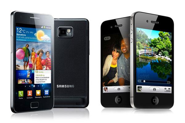 comparatif iphone 4s galaxy S2 iPhone 4S vs Galaxy S2: Comparatif Technique par Samsung