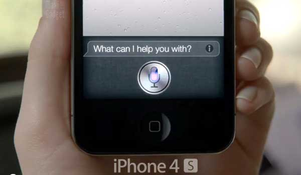 video pub tv du nouveau iphone 4S et son assistant vocal siri