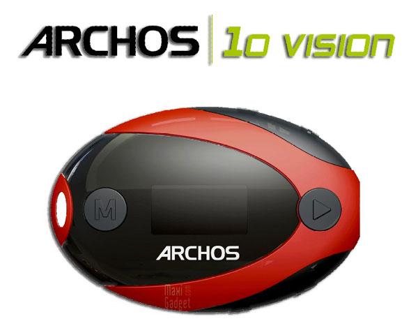 Archos 10 vision baladeur etanche Archos 10b Vision Waterproof: Baladeur qui na pas peur de leau