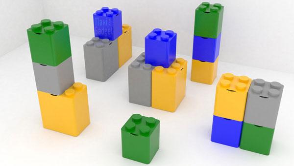 Bevorzugt Tri Sélectif: Des Poubelles LEGO c'est plus FUN ! RG71