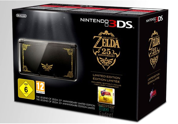 nintendo 3DS zelda pack collector Nintendo 3DS avec Legend Of Zelda: Pack Collector pour Noël
