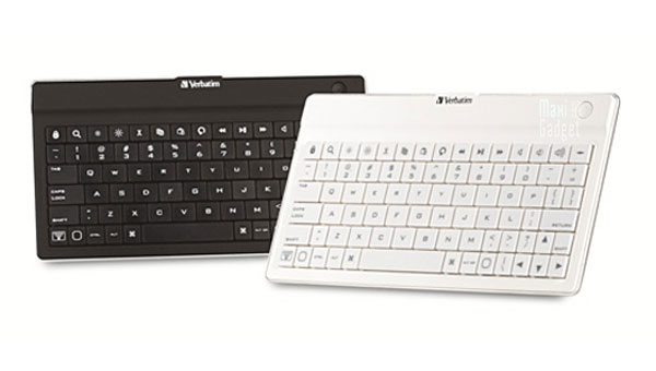 clavier sans fil ultra-fin verbatim pour ipad iphone, android