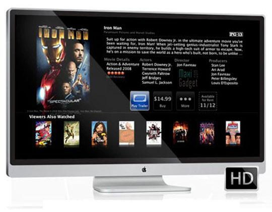 apple itv futurs ecrans lcd hdtv 32 37 pouces Ecrans Sharp 32 et 37 dans les futurs LCD Apple iTV en 2012