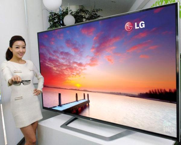télé écran géant
