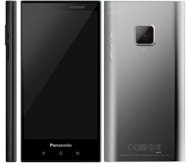 panasonic smartphone android tout terrain nfc black Retour de Panasonic en Europe avec un Smartphone NFC en 2012