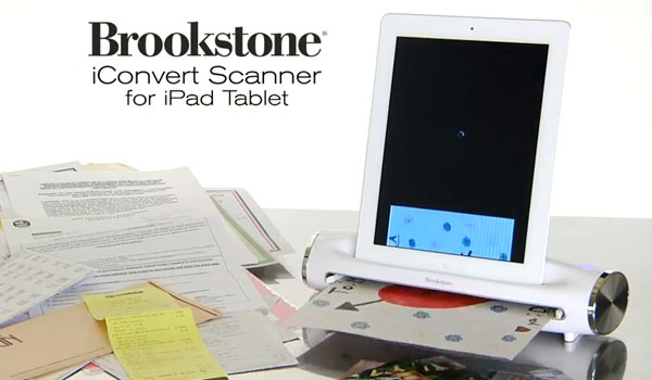 iconvert, scanner portable pour ipad