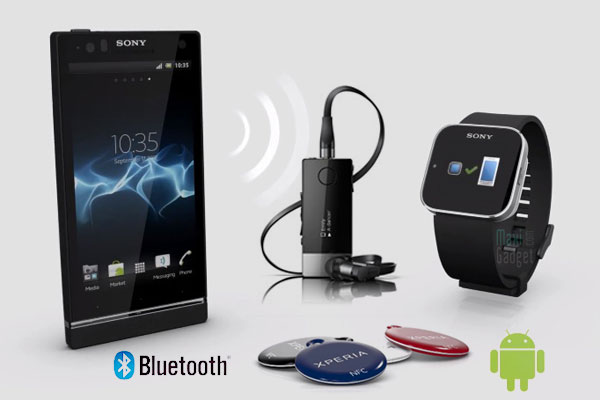 sony accessoires bluetooth smartwatch, xperia smarttags, smart headset pro