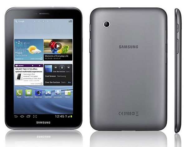 samsung galaxy tab 2 tablet android 4.0 ice cream sandwich