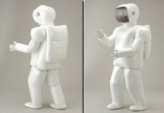 asimo robot deguisement bluffant