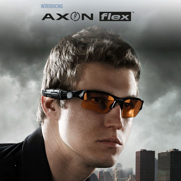 axon flex mini camera video embarquée pour du streaming live