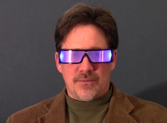 glospex lunettes eclairantes pour voir la nuit