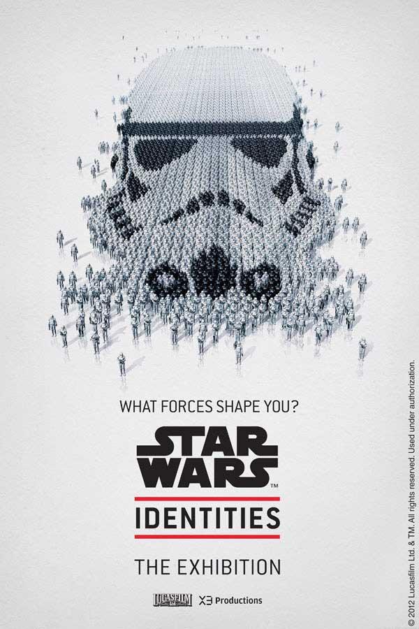 Célèbre Star Wars: Impressionnante Affiche Human Pixel Art Design PE94