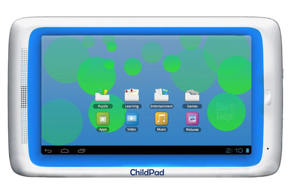 archos child pad tablette android ice cream sandwich pour les plus jeunes à 99 euros
