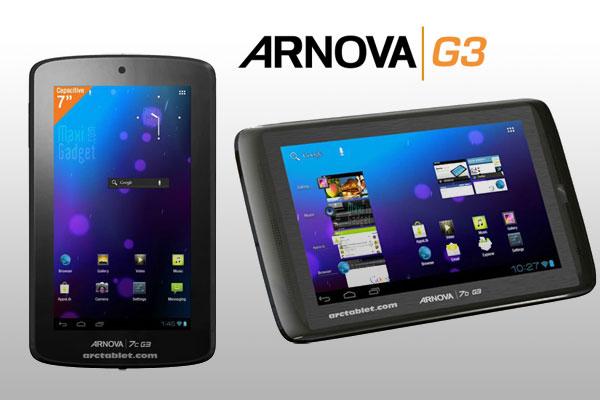 arnova G3 tablet android 4.0