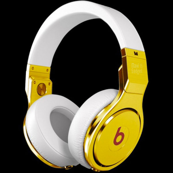 beats by dr dre casque or blanc 24ct