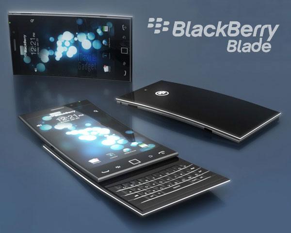 blackberry blade futur concept smartphone blackberry 10