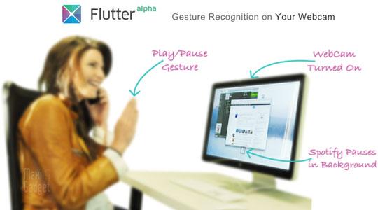 controle avec les mains sur mac avec flutter application gratuite en version alpha