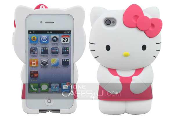 hello kitty 3D etui iphone 4s Hello Kitty 3D: Etui iPhone 4S pour Geekette (Nouveau)