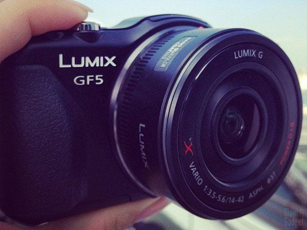 panasonic lumix GF5 nouveau boitier pour 2012