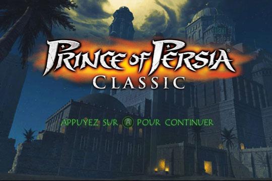prince of persia classic hd iphone ipad