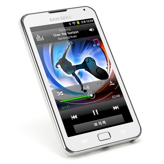 samsung galaxy player70 Samsung Galaxy Player 70 Plus: PMP Android Dual Core APN 5Mp