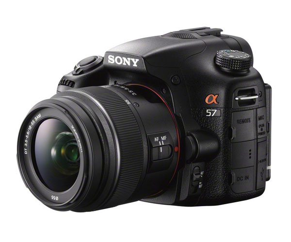 sony alpha a57 boitier SLT intermediaire 16 megapixels video full hd 1080p