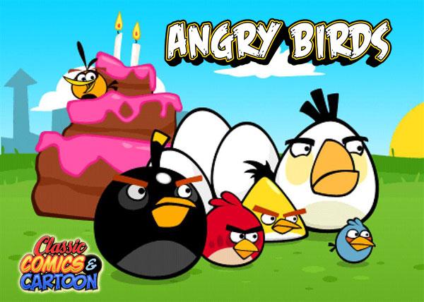angry birds dessin-animé et film en préparation chez rovio