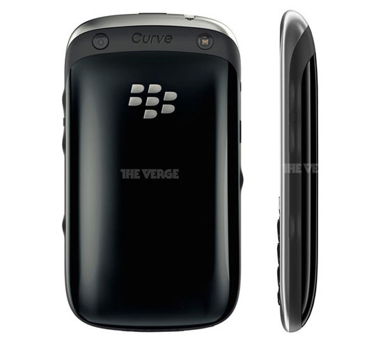 blackberry curve 9320 back BlackBerry Curve 9320: Photo Officielle Nouveau Smartphone