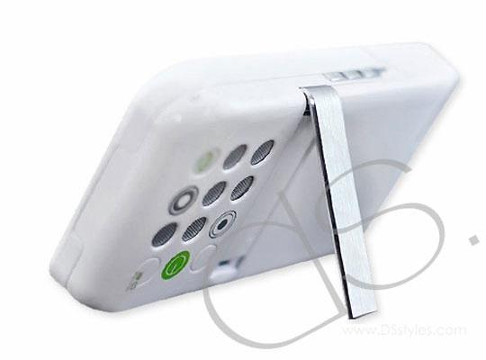 coque multifonction iphone 4 / 4S avec speaker, batterie, support