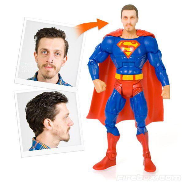 figurine super heros personnalisée pour devenir un super hero immortel