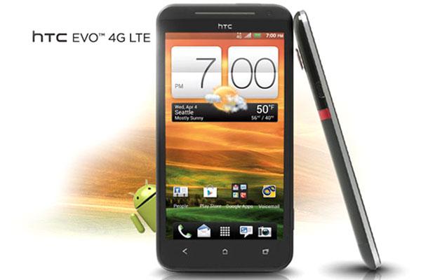 htc evo 4G LTE officiel en vente au mois de mai