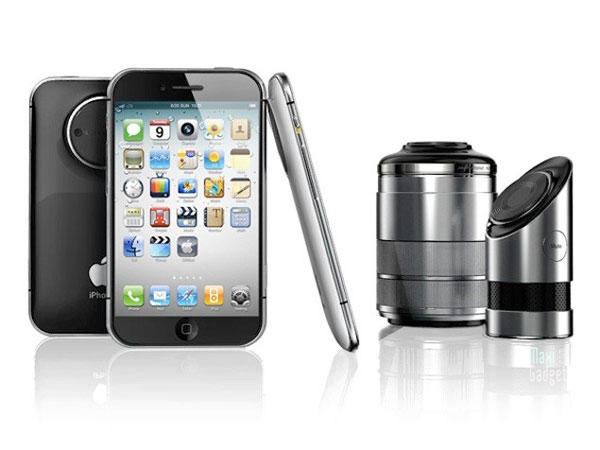 iphone pro 3d Objectif Reflex iPhone Pro: Smartphone Projecteur APN 3D à Objectifs Reflex