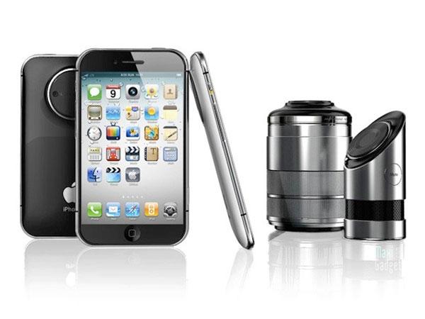 iphone pro 3D objectifs reflex
