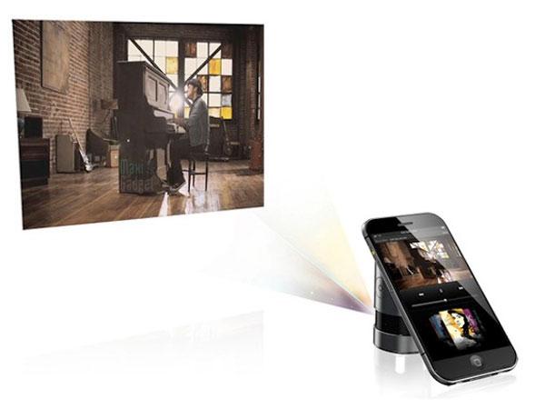 iphone pro 3d Projecteur iPhone Pro: Smartphone Projecteur APN 3D à Objectifs Reflex