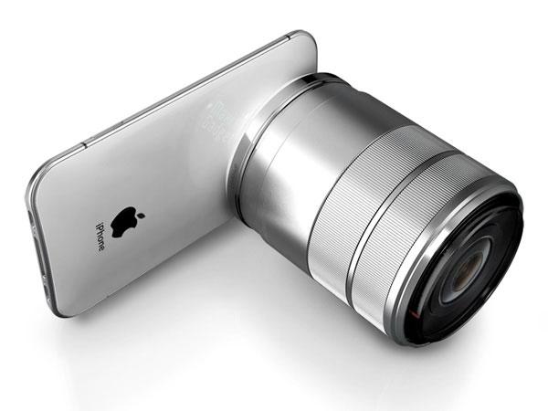 iphone pro 3d apn reflex iPhone Pro: Smartphone Projecteur APN 3D à Objectifs Reflex