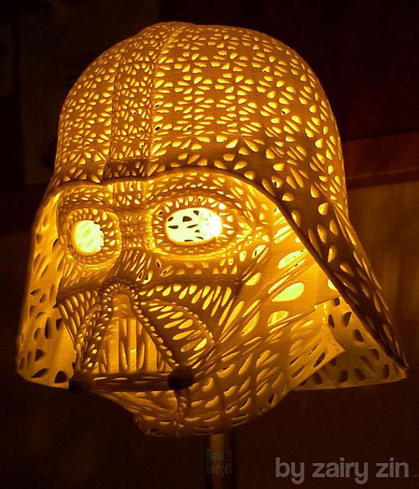 lampe dark vador design pour fanboy star wars
