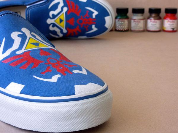 chaussures vans legend of zelda 25ieme anniversaire