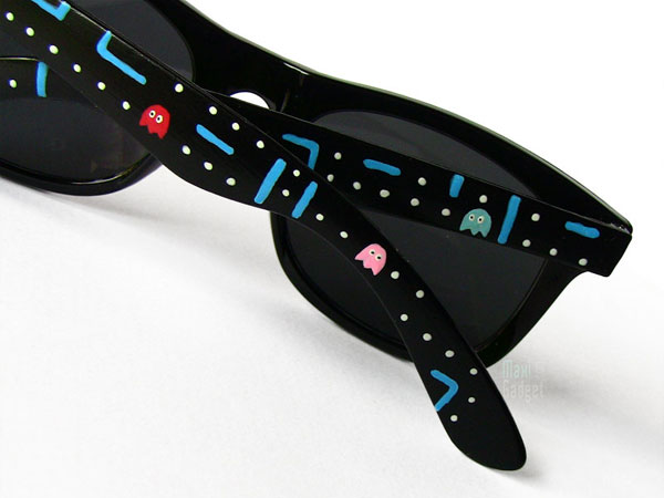 lunettes pacman style rayban pour geek