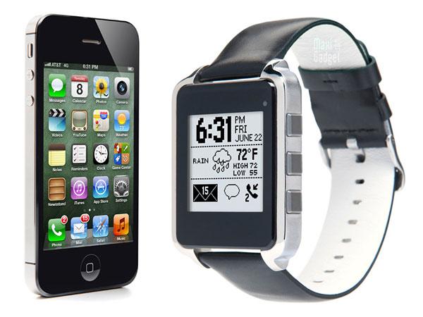 metawatch montre bluetooth 4.0 pour ios5 android (modele noir)