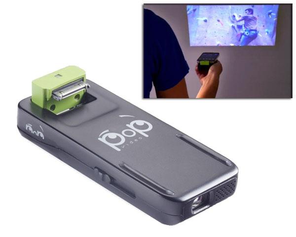 pop video pico projecteur pas cher pour iphone 4, 4S, ipod touch 3G, 4G