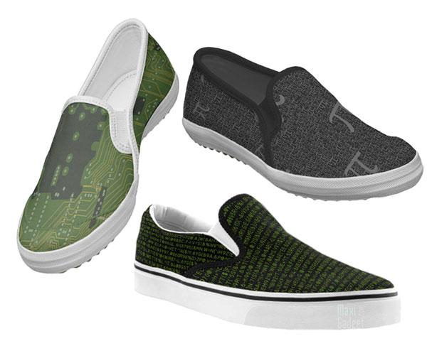 sneakers geek pour le mathematicien, le programmeur, l'informaticien