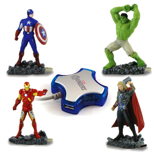 the avengers clés usb hub usb en vente chez amazon