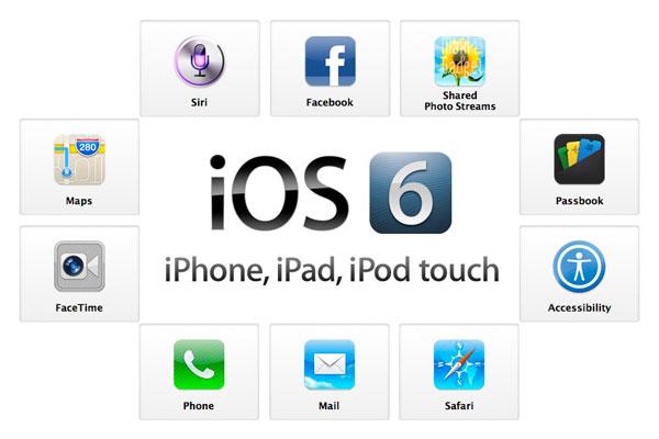 nouveautés apple ios 6 en vidéo