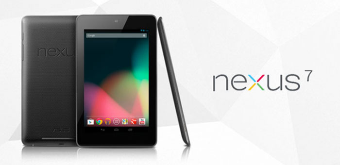 tablette google nexus 7 sous android jelly bean quad core