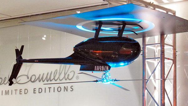 hélicoptère hughes md 500 en guise de ventilateur de plafond - Ventilateur De Plafond Pour Chambre