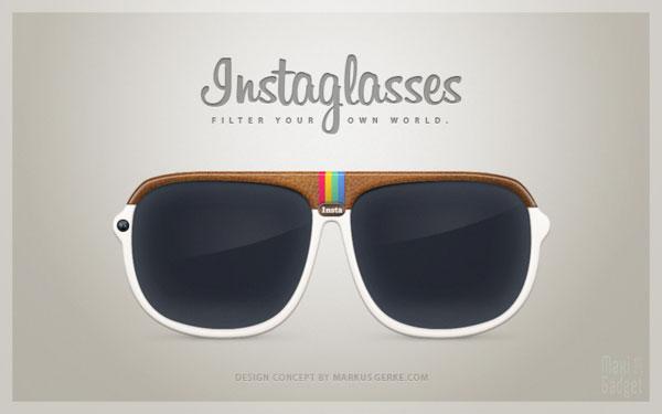 instaglasses lunettes instagram concept 2012