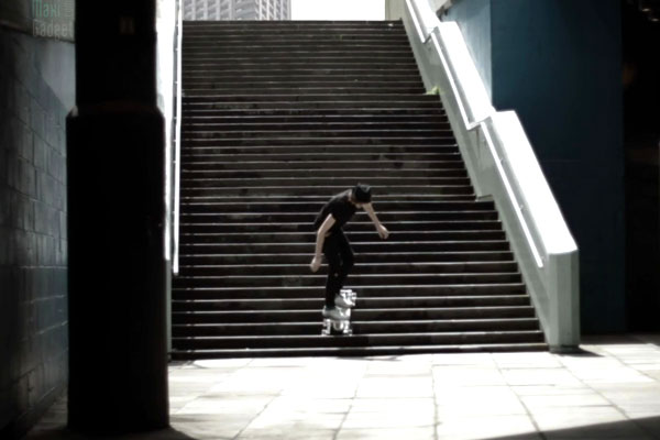 stair rover skateboard pour escalier (demo video)