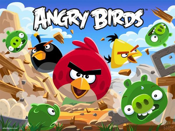 angry birds trilogie disponible en 2012 sur xbox 360, PS3, 3DS