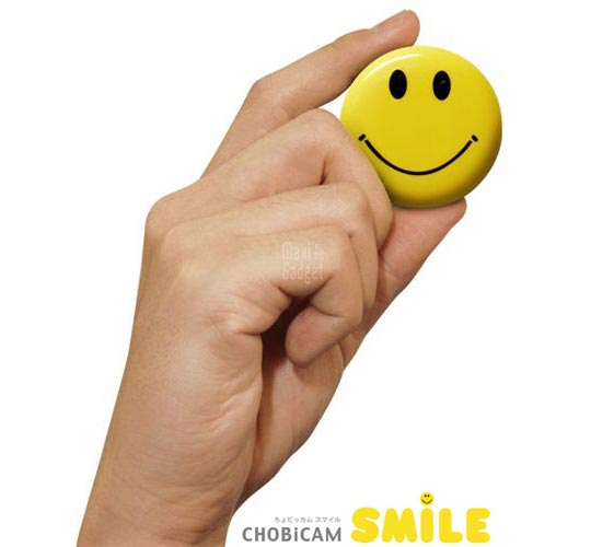 Chobi Cam Smile Mini Camera 18g Chobi Cam Smile: Mini Camera en forme de Smiley